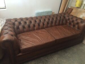 Leather Moran Sofa Lounge Beacon Hill Manly Area Preview