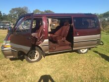 Toyota super custom hi-ace  luxury van in very good condition St Clair Penrith Area Preview