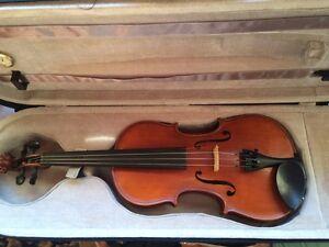 4/4 Gliga violin in Stanley Indigo Area Preview