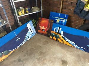 Oil painting on Blocks Heathridge Joondalup Area Preview