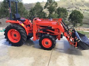 Kubota L1 245 DT Tractor and Attachments Kilcoy Somerset Area Preview