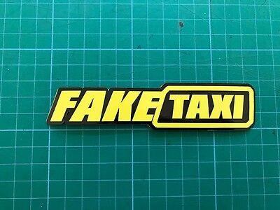 Fake Taxi X2 Sticker Funny Ratlook Hoodride Car Sticker Bombing Decal Vw Jdm