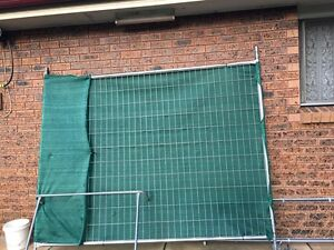 Temporary fencing X 2 panels St Marys Penrith Area Preview