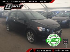2014 Chevrolet Sonic LT Auto HATCHBACK, HEATED SEATS, REMOTE...