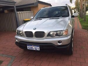 BMW X5 2002 silver low kms Beckenham Gosnells Area Preview