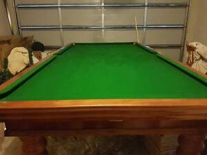 Full slate snooker Table Cranbourne East Casey Area Preview