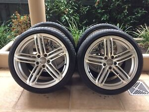 """19"""" GENUINE AUDI A5/S5 *S-LINE* WHEELS & 85-99% 255 35 R19 TYRES Kew Boroondara Area Preview"""