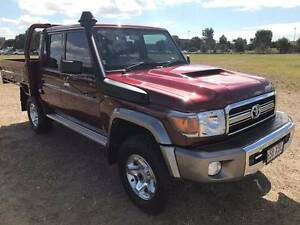 2017 Toyota LandCruiser 79 Series Dual Cab 4x4 Trayback 200klm Murarrie Brisbane South East Preview