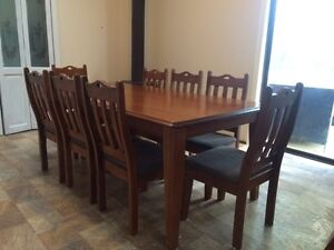 Dining table and eight chairs Mount Riverview Blue Mountains Preview