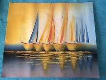 Oil painting Bundall Gold Coast City Preview
