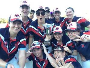 Female cricket players Kingston South Canberra Preview