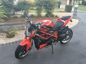 848 Ducati street fighter Southport Gold Coast City Preview
