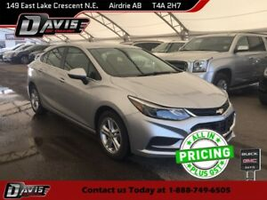 2017 Chevrolet Cruze LT Auto HEATED SEATS, USB PORT, REAR VIS...