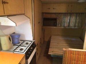 1977 Millard 22 ft caravan vintage