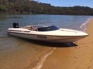 200HP Merc Ski Boat 18ft Parramatta Parramatta Area Preview