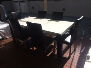 7 piece dining set Charlestown Lake Macquarie Area Preview