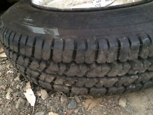 RARE SPARE WHEEL FOR OLD BOX TRAILER HT STUD PATTERN Camden Park Wollondilly Area Preview