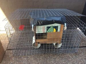 FREE RABBIT CAGE/HUTCH Belmont South Lake Macquarie Area Preview