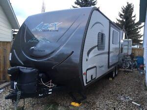New travel trailer