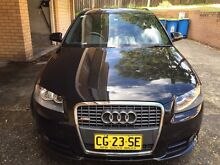 Audi 2007 A3 low kms and 7 months rego with good conditio Carlton Kogarah Area Preview