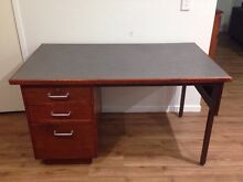 Wooden Desk Camira Ipswich City Preview