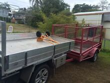 MAN AND UTE WITH TRAILER South Brisbane Brisbane South West Preview