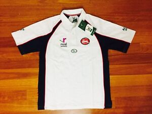BRAND NEW South Sydney Rabbitohs ISC Rugby League Polo Top Carlton Kogarah Area Preview