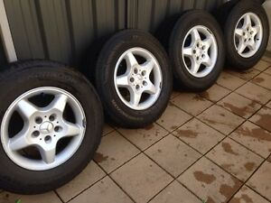 """4x 16"""" Mercedes ml wheels Cheltenham Charles Sturt Area Preview"""