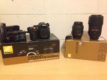 Nikon D5200 Camera, lenses, accessories and bag Blacktown Blacktown Area Preview