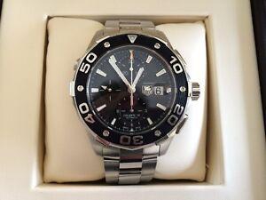 TAG HEUER Aquaracer Chronograph 500m Automatic 44mm Men's Watch Reservoir Darebin Area Preview