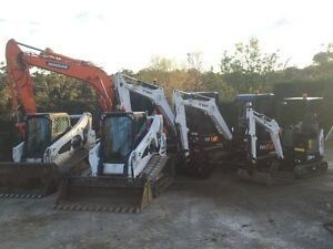 Earthmoving contractor/ machine hire, bobcat, excavator truck and dog Mittagong Bowral Area Preview