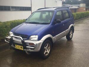 Daihatsu Terios 4x4 Auto Warners Bay Lake Macquarie Area Preview