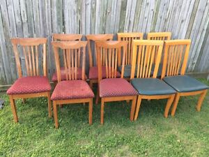 Wooden dining chairs Yamanto Ipswich City Preview