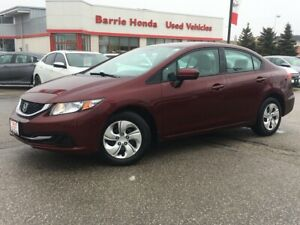 2014 Honda Civic LX A/C FUEL SAVER!!!