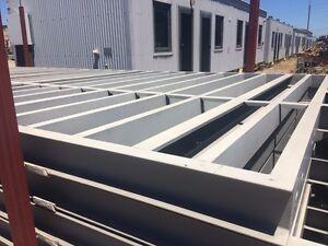 Steel pre-fabricated deck, floor sub, balcony floor frames, walkways Ottoway Port Adelaide Area Preview