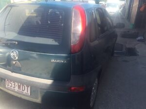 Wrecking Holden Barina XC 2003 hatch Eight Mile Plains Brisbane South West Preview