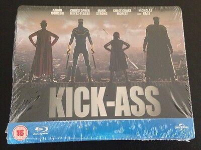 Kick Ass Blu Ray Steelbook Play Com Exclusive  Region Free 100Th Anniv  New Rare