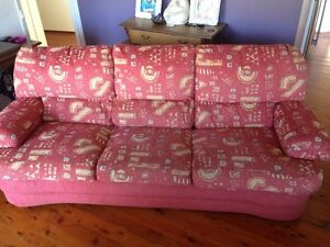 FREE 3 seater sturdy material lounge Cromer Manly Area Preview