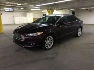 2013 Ford Fusion Titanium 2.0L 4CYL, AWD, NAV, LEATHER