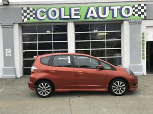 2013 Honda Fit Sport One owner, accident free.