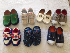 BOYS DESIGNER SHOES X 7 PAIRS Coorparoo Brisbane South East Preview