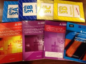 Mathematics Specialist texts & Study guides & Trial Exam Papers Mundaring Mundaring Area Preview