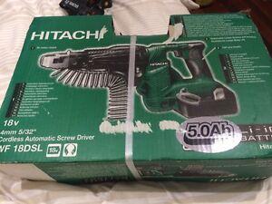 Hitachi 18V Cordless Automatic Screw Driver WF18DSL Richlands Brisbane South West Preview