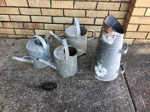 Old Watering Cans Caves Beach Lake Macquarie Area Preview