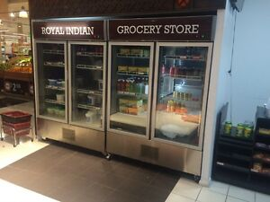 Retail shop fridge, freezer and shutter gate for sale West Ryde Ryde Area Preview