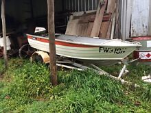 Aluminium tinny dinghy boat runabout with outboard Yetholme Outer Bathurst Preview