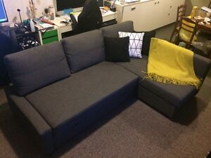 IKEA Friheten 3 Seater Pullout Sofa Bed with Chaise Kelvin Grove Brisbane North West Preview