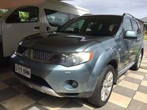 7-SEATER 2008 MITSUBISHI OUTLANDER VRX LUXURY FULL LEATHER&OPTIONS Parafield Gardens Salisbury Area Preview