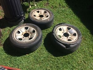 Land cruiser wheels Dayboro Pine Rivers Area Preview