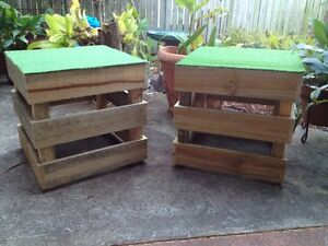 Pallet seats for hire. Chermside Brisbane North East Preview